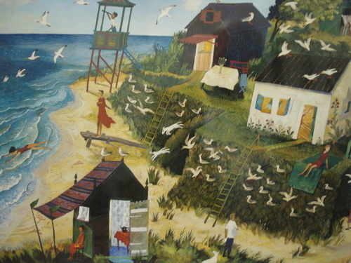Birdwatching, Limited Edition print by Anna Pugh