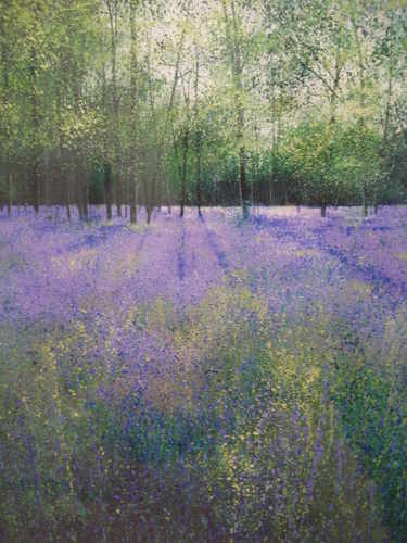 Birdsong and Bluebells, Limited Edition print by Paul Evans