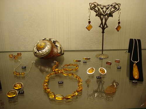 Collection of Amber jewellery