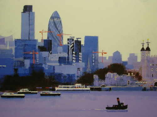 City of London, Limited Edition print by Colin Ruffell