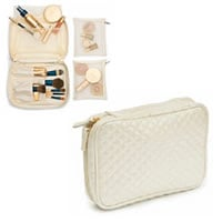 Make-Up Bag Qulted - Cream