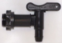 Plastic Fermenter Tap and Back Nut - Suitable for use with King Kegs