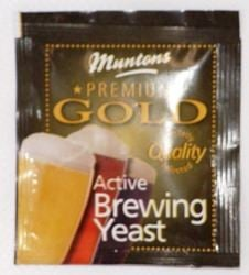 Muntons Gold brewing yeast - sachet