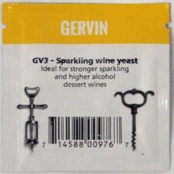 Gervin GV3 Sparkling Wine Yeast - sachet