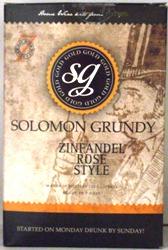 Solomon Grundy Zinfandel Rose style - 30 bottle Rose Wine Kit