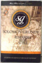 Solomon Grundy Zinfandel Rose style - 30 bottle Rose Wine Kit
