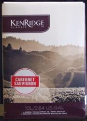 Kenridge Classic Cabernet Sauvingnon 30 bottle red wine kit