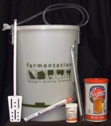 Brewing Equipment Starter Kit + Beer Kit