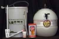 deluxe beer making starter kit