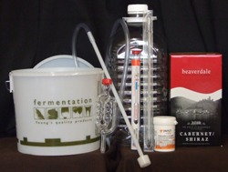 CHS Wine Making 6 bottle Red Wine starter kit