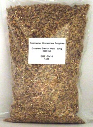 Crushed Biscuit Malt - 500gms