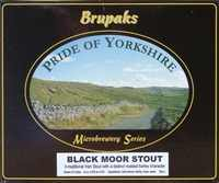 Brupaks Black Moor Stout home beer making kit