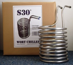 Hambleton Bard Immersion Wort Chiller