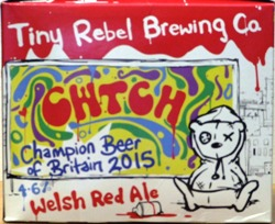 Muntons Tiny Rebel Brewing Cwtch Welsh Red Ale