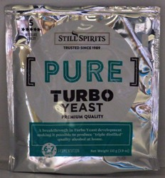 Still Spirits Triple Distilled Turbo Yeast
