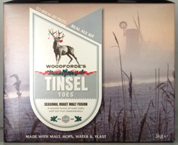 Woodfordes Tinsel Toes Winter Ruby Ale - 40 pint beer kit