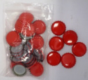Crown Caps - Red (45s)