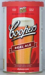 Coopers Real Ale home brewing kit