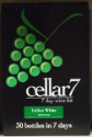 Cellar 7 from Youngs 30 Bottle 7 Day Italian White wine kit