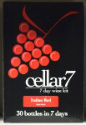 Cellar 7 from Youngs 30 Bottle 7 Day Italian Red wine kit
