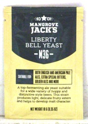 Mangrove Jack Liberty Bell Ale Yeast (M36) - 10g sachet (Formerly called Bu