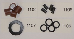 Spare Rubber Washers and Seals for S30 and Pin Valve