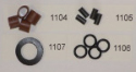 Replacement Rubber Seals and Washers for S30 and Pin Valve