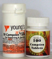 Campden Tablets - Packed in 50s and 100s