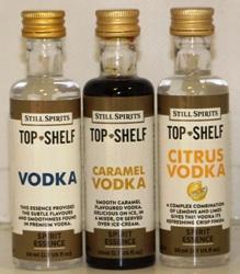 Still Spirits Top Shelf Vodka Essences