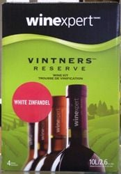 Vintners Reserve White Zinfandel 30 bottle Rose wine kit