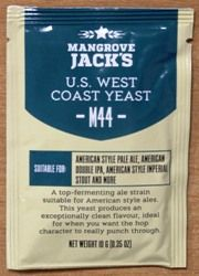 Mangrove Jack's US West Coast (M44) Yeast - 10g