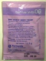 Safbrew WB-06 Wheat Beer brewing yeast - sachet