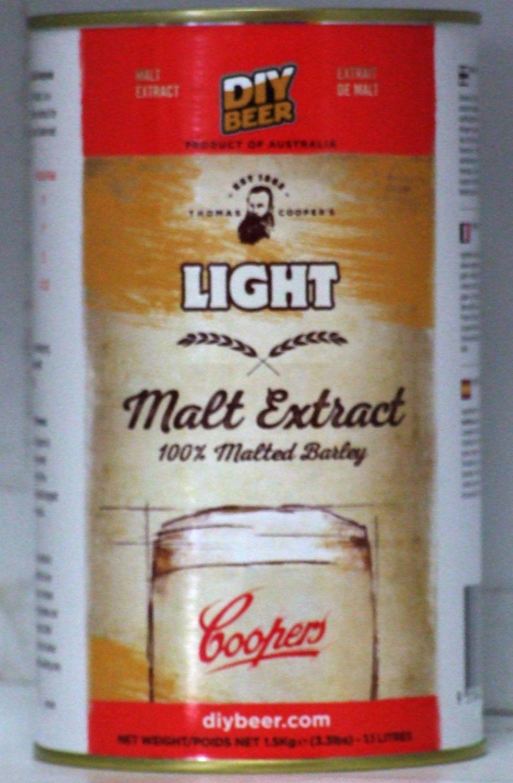 Coopers Liquid Malt Extract - Light 1.5kgs