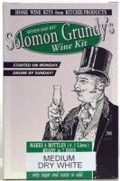 "Solomon Grundy ""Medium Sweet White"" - ""30 bottle"" (21ltr) white wine kit"