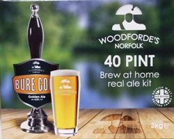 Woodfordes Bure Gold - 40 pint beer kit