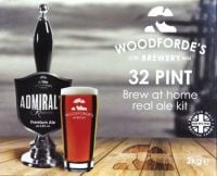 Woodfordes Admirals Reserve -  32 pint beer kit