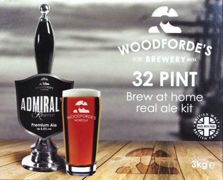 Woodfordes Admirals Reserve -  32 pint beer kit
