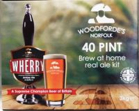 Woodfordes Wherry Bitter - 40 pint beer kit
