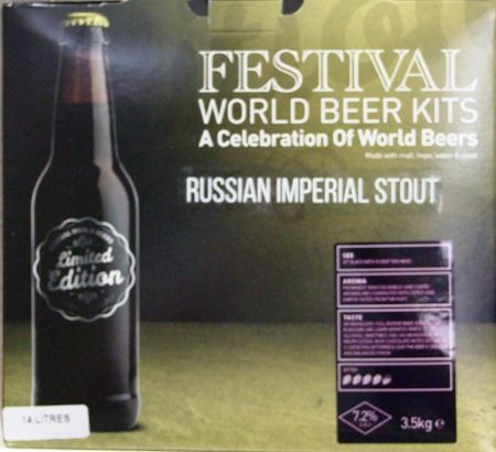 Festival World Beers - Imperial Stout Kit
