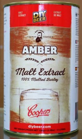 Coopers Liquid Malt Extract - Amber 1.5kgs