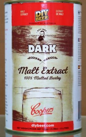 Coopers Liquid Malt Extract - Dark 1.5kgs