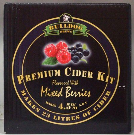 Bulldog Premium Mixed Berries flavoured Cider