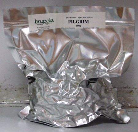 Pilgrim Hops - Dried Leaf 100g
