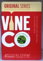 Vineco Original Series Pinot Grigio (Italy) 30 bottle home white wine making kit