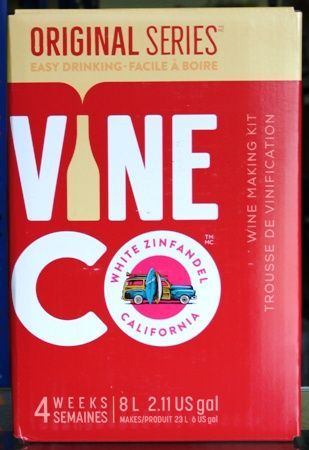 Vineco Original Series Californian White Zinfandel 30 bottle home rose wine