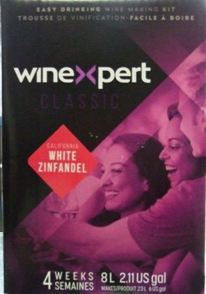 Wine Expert White Zinfandel 30 bottle Rose wine kit