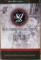 """Solomon Grundy """"Medium Dry Red"""" - """"30 bottle"""" (21ltr) red wine kit"""