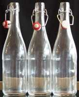 750ml Clear Grolsch Bottles  - packed in 6s