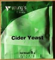 Youngs Cider Yeast - sachet