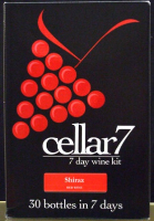 Cellar 7 from Youngs 30 Bottle 7 Day Shiraz wine kit